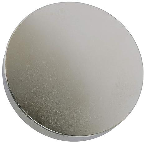 Fluss- Super Stark Neodym-Magnet 80kg Zugkraft Starker runder Seltenerdmagnet N52 mit Senkloch-Augenschraube f/ür Magnetfischen 48 mm Durchmesser Schatzsuche