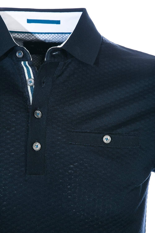 3a61b6e69 Ted Baker Polo Shirt FRUITPA Mens Navy TOP: Amazon.co.uk: Clothing