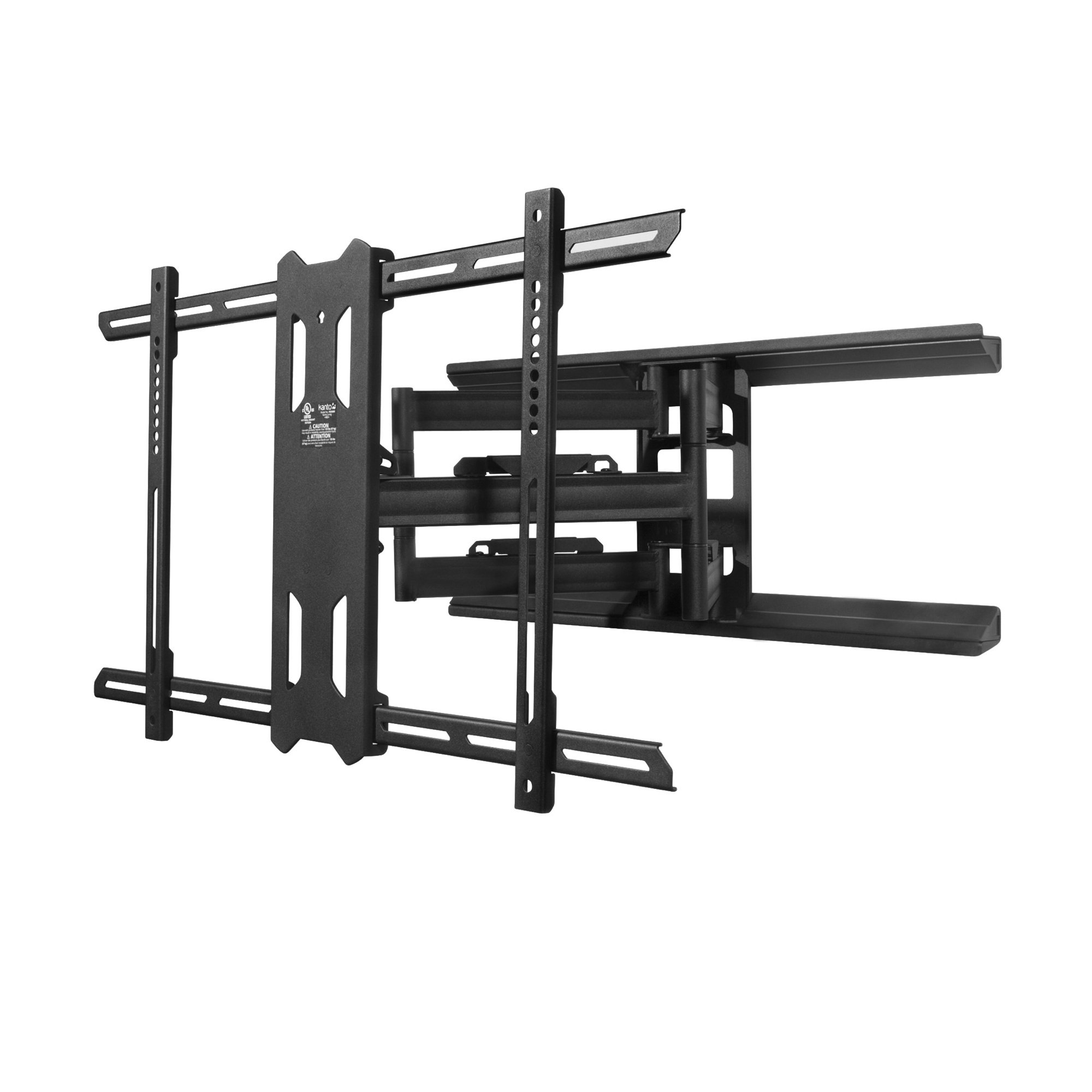 Kanto PDX680 Full-Motion TV Wall Mount for 39″–75″ Flat-Screen Monitor – Easy Install – Black