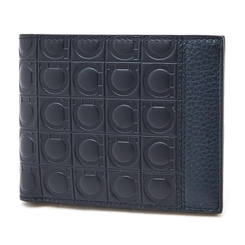 [サルヴァトーレ フェラガモ Salvatore Ferragamo] フィレンツェ メンズ 二つ折り財布 LAVAGNA [並行輸入品] B07DNH7GVL
