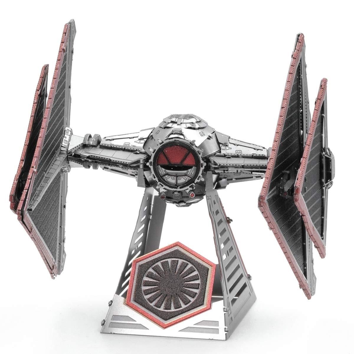 Fascinations Metal Earth Star Wars Rise of Skywalker Sith Tie Fighter 3D Metal Model Kit