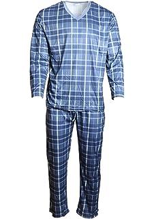 b13b7f4bd403b8 Damen Schlafanzug Pyjama lang Set 2-teilig Pyjama Schlaf L-XXL Anzug ...