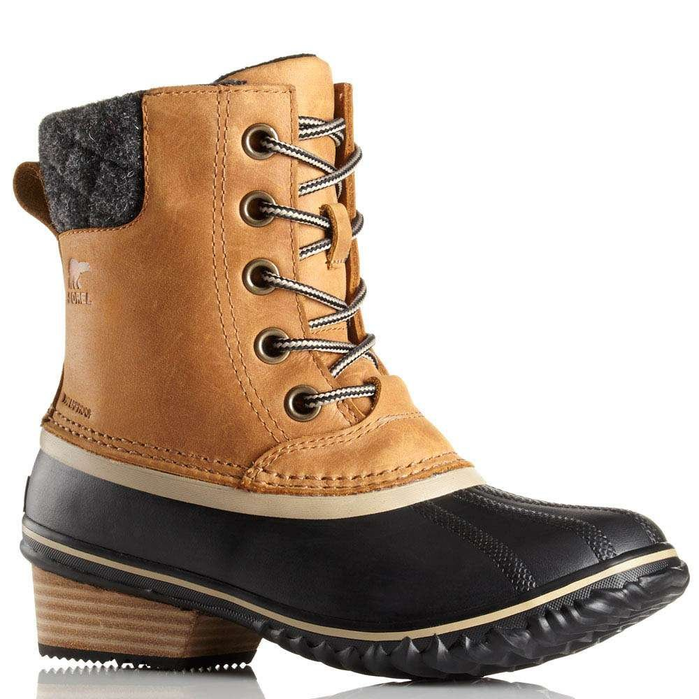 SOREL Women's Slimpack II Lace Boots, Elk Elk-286 Brown 11