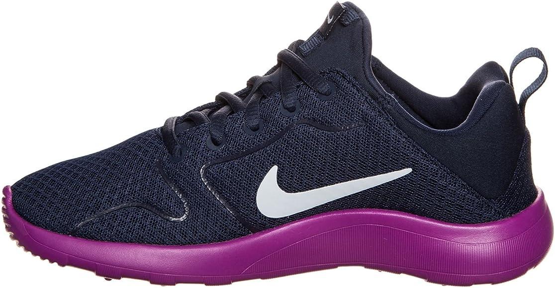 Nike 844668-401, Zapatillas de Trail Running para Niñas, Azul (Midnight Navy/Blue Tint-Hyper Violet), 35.5 EU: Amazon.es: Zapatos y complementos