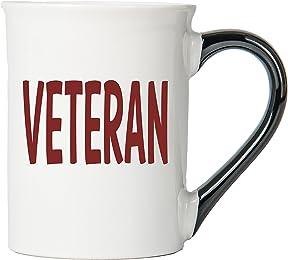 Veteran Mug, Veteran Coffee Cup, Ceramic Veteran Mug, Custom Veteran Gifts By Tumbleweed