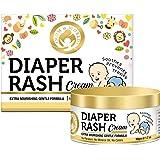 Mom & World Baby Diaper Rash Cream 50g - With Shea Butter, Argan Oil, Aloevera
