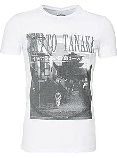 Akito Tanaka Herren T-Shirt Fight for Skull Totenkopf Asiatisch ... 06419ed7ab