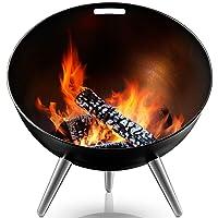 FireGlobe Eva Solo Feuerstelle schwarz XXL Edelstahl Fire Pit ✔ rund