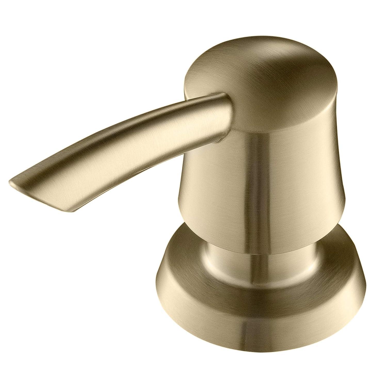 Kraus Ksd 51 Soap Dispenser For Kitchen Sink Faucet Deck Mount Brushed Gold
