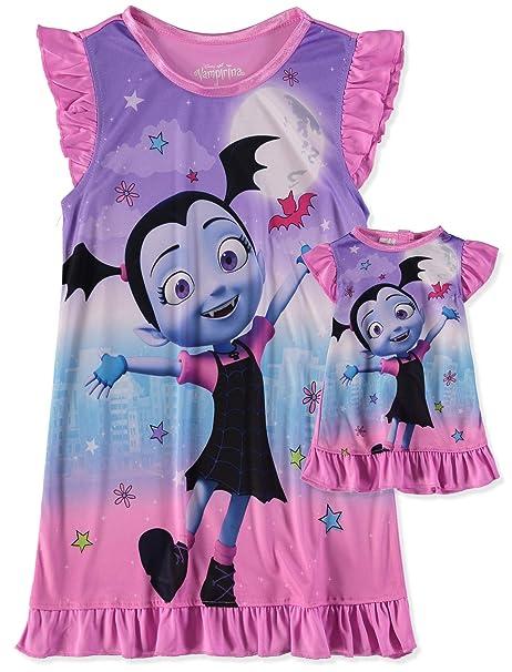 Amazon.com: Disney Vampirina - Vestido de noche y muñeca ...