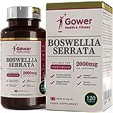 Boswellia serrata capsule (Franchincenso) 5:1 (equivalente a 2000 mg) | 120 capsule | POTENTE ANTI-INFIAMMATORIO | Per la salute dei muscoli e delle articolazioni | 4 mesi di fornitura