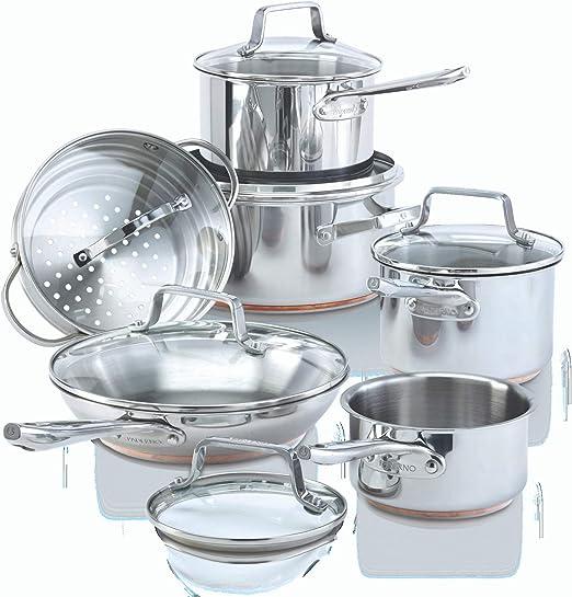 Amazon.com: Paderno - Juego de utensilios de cocina de 12 ...
