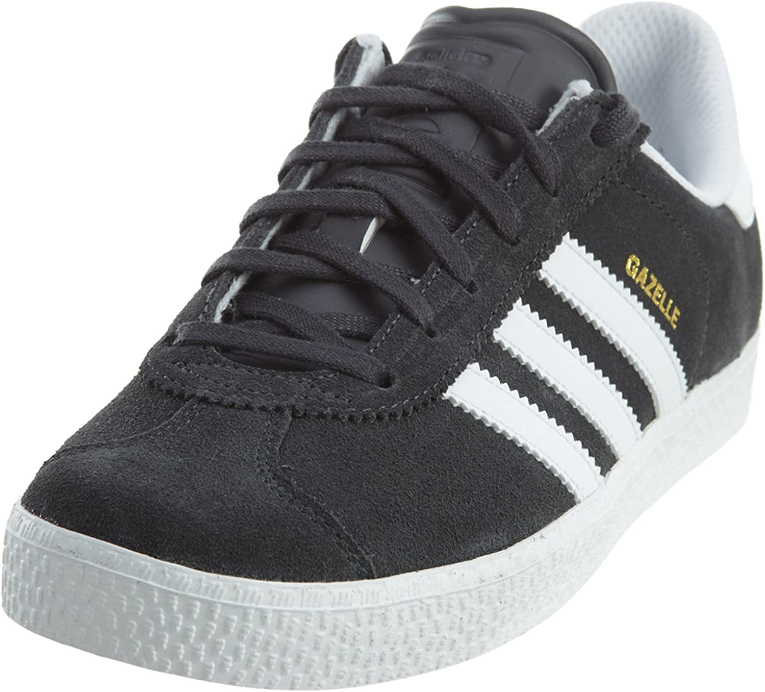 2 M US Little Kid Collegiate Navy//White//White adidas  Boys Gazelle C Sneaker