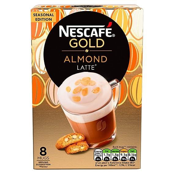 NESCAFÉ GOLD Café con leche con almendras, 136 g