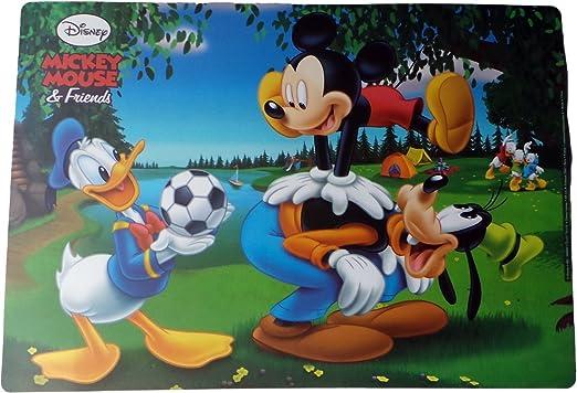 Disney Mickey Mouse – Juego de manteles – Mickey Donald y Goofy ...