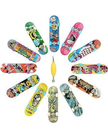 c54b6d40a23 Hometall 12 PCS Professional Mini Fingerboards Finger Skateboard(12 PCS)