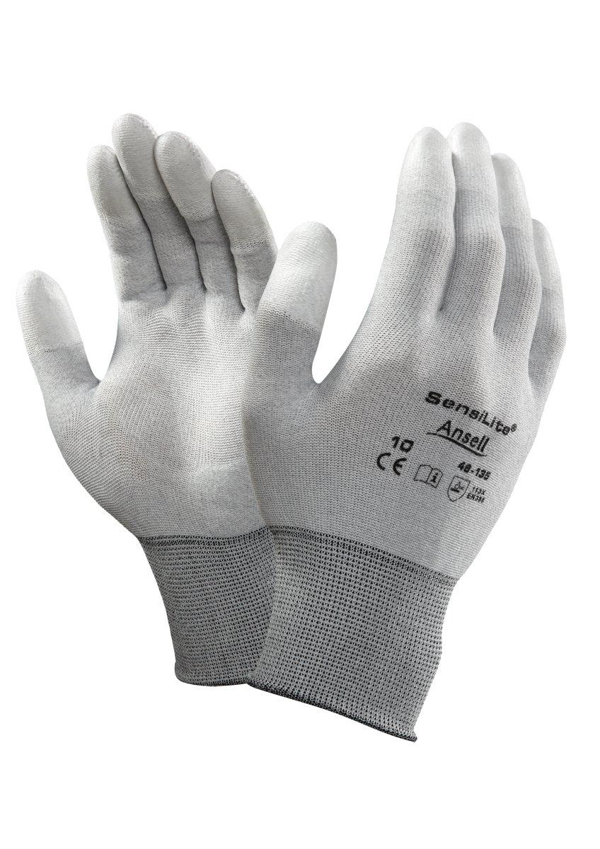 Ansell 48-135/7 SensiLite Fines especiales guante, Protección ...