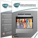 "2 x Slabo Film de protection d'écran Lenovo Yoga Tab 3 (10 pouces) protection écran film de protection film ""No Reflexion"" MAT - anti-reflets MADE IN GERMANY"