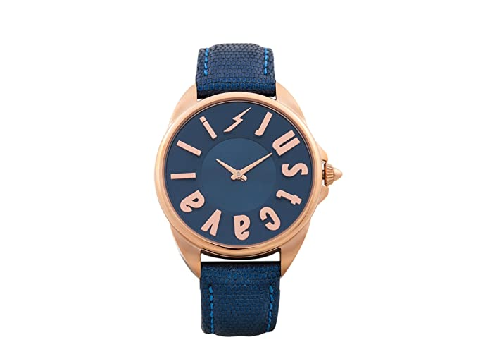 27e132b961 Just Cavalli Womens Analogue Classic Quartz Watch with Leather Strap  JC1L008L0055  Amazon.co.uk  Watches