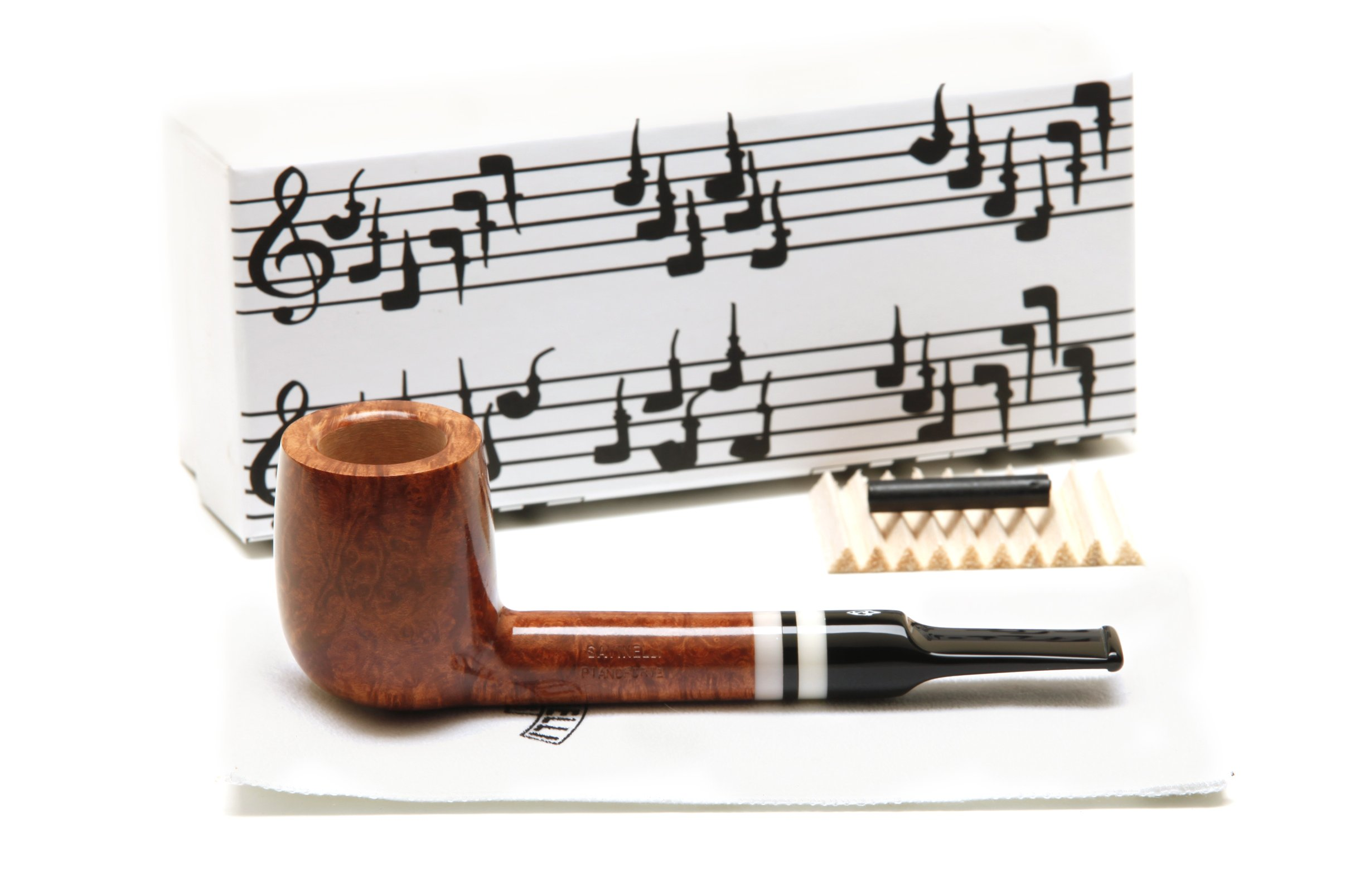 Savinelli Pianoforte 703 KS Smooth Tobacco Pipe