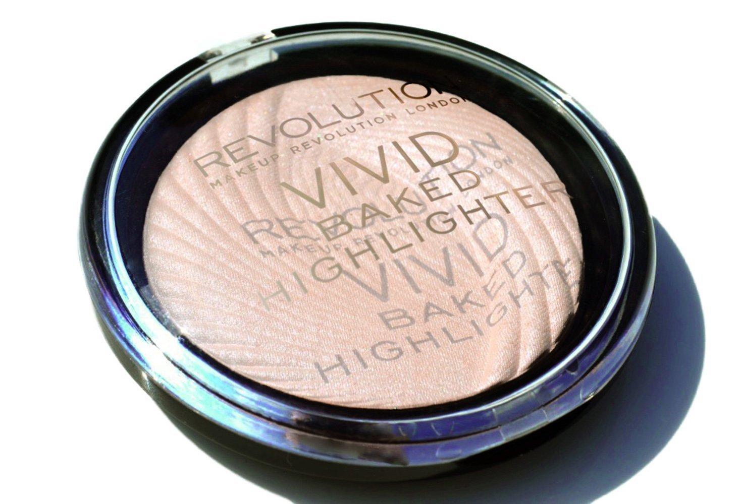 Maquillaje Revolution Vivid Baked, iluminador Peach Lights, 8g MAKEUP REVOLUTION 18694