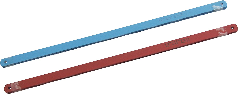 12pc HackSaw Blades For Hacksaw 6/'/' 24 TPI Wood Cutting Saw Amtech Carbon Steel