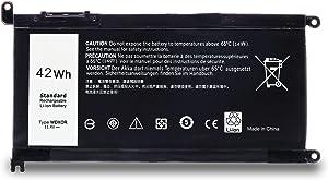 WDX0R Laptop Battery for Dell Inspiron 13 5000 5368 5378 7000 7368 7378 15 5000 5565 5567 5568 5578 7000 7560 7569 7570 7579 P58F 17 5765 5767 5768 5770 WDXOR Battery-11.4V 42Wh