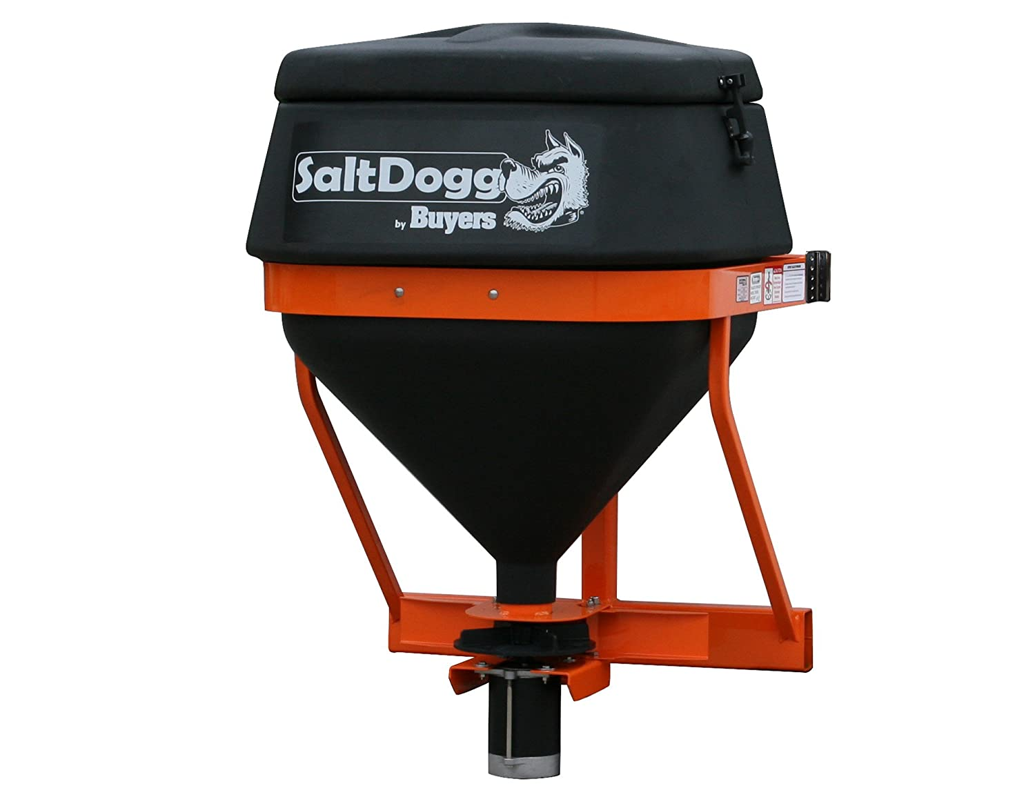 SaltDogg 8-Cubic-Feet/602-Pound Capacity Salt Spreader with Heavy Duty Motor and Speed Control TGS01B