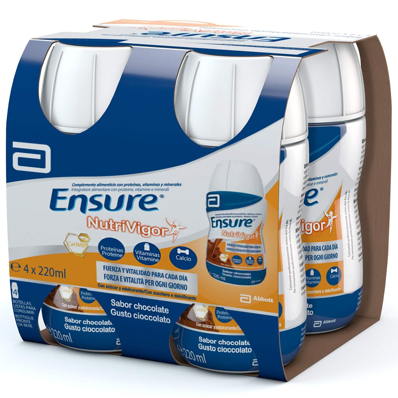 Ensure Nutrivigor sabor vainilla 400g - complemento alimenticio con proteínas, vitaminas, minerales y CaHMB*: Amazon.es: Salud y cuidado personal