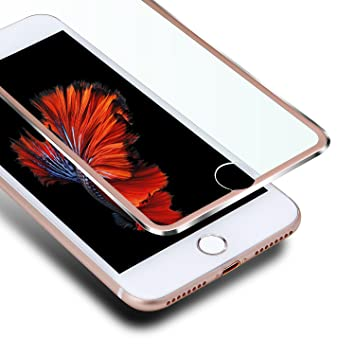 9bddacda8ea VIUME iPhone 6s Plus Compatible con Protector de Pantalla, 3D Pantalla  Completa para iPhone 6
