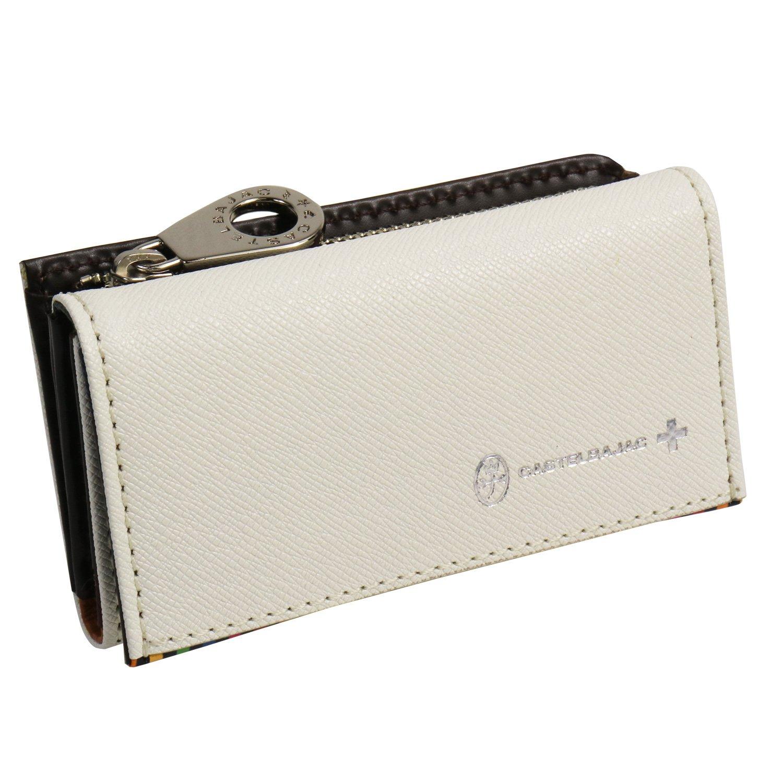 [カステルバジャック] CASTELBAJAC キーケース(小銭入れ付き)/074612 B01M8LN4NE ホワイト ホワイト