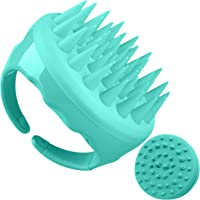 Soaab Shampoo Brush Scalp Massager Exfoliating Brush, Soft Silicone Brush with Body Brush Massage Brush Attachment…