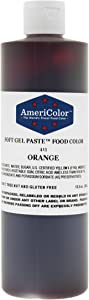 ORANGE 13.5 Ounce Soft Gel Paste Food Color