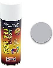 Arexons 3331 Smalto Acrilico Alta Temperatura, Alluminio, 400 ml