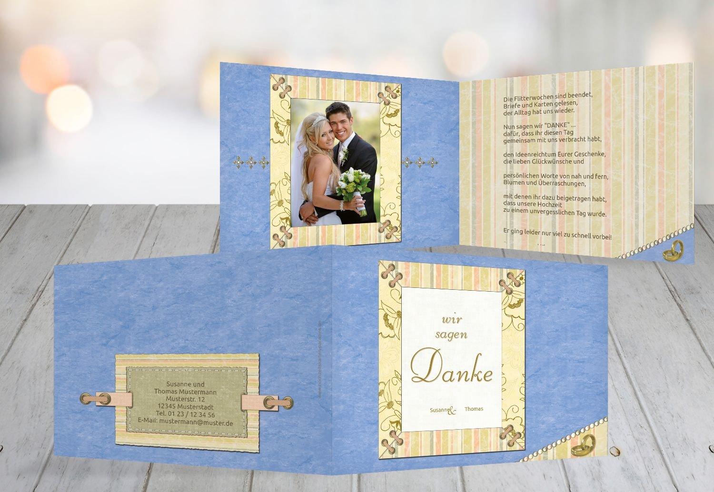 Kartenparadies Danksagung für Hochzeitsgeschenke Hochzeit Dankeskarte Bund für's Leben, hochwertige Danksagungskarte Hochzeitsglückwünsche inklusive Umschläge   20 Karten - (Format  148x105 mm) Farbe  LilaFlieder B01N13BY88 | Mode