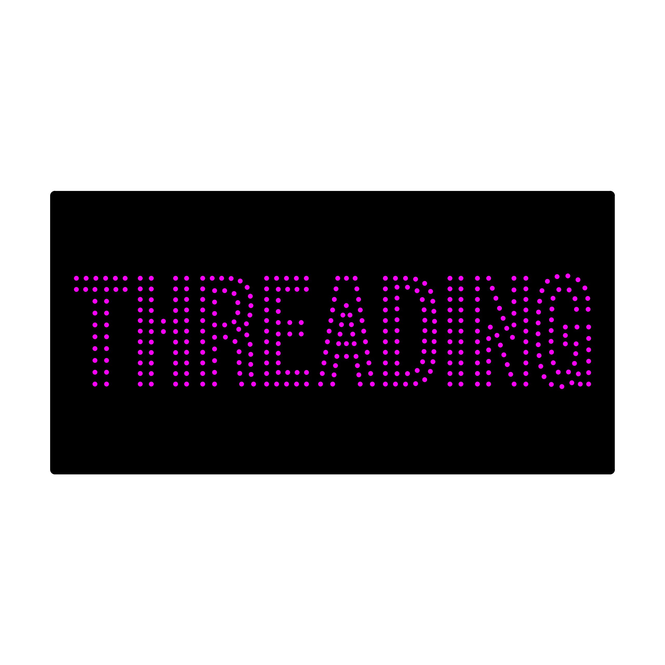 LED Treading Light Sign Super Bright Electric Advertising Display Board for Eyebrow Facial Waxing Nails Spa Pedicure Message Business Shop Store Window Bedroom 24 x 12 inches