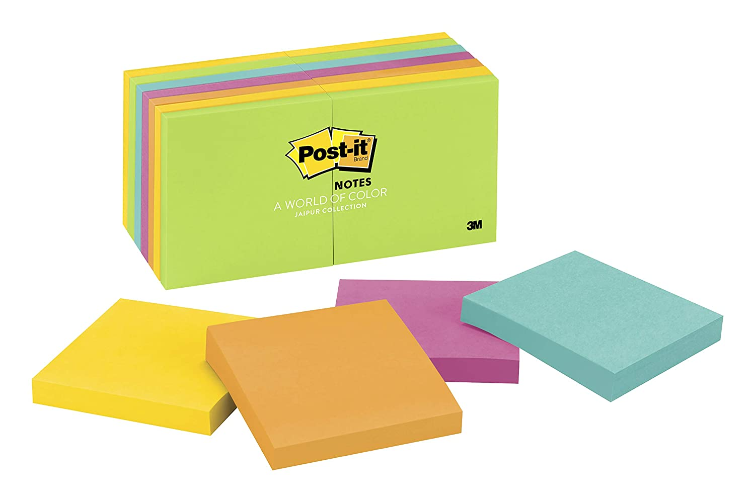 Amazon Com Post It Notes America S 1 Favorite Sticky Note 3 In