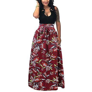 Faldas para Mujer Casual Moda para Falda Verano De Mujer Ropa ...