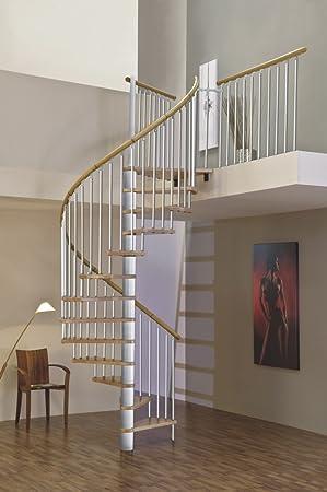 Ahorro de espacio en el interior del husillo escalera escalera de caracol Merdi diámetro 120 cm: Amazon.es: Bricolaje y herramientas