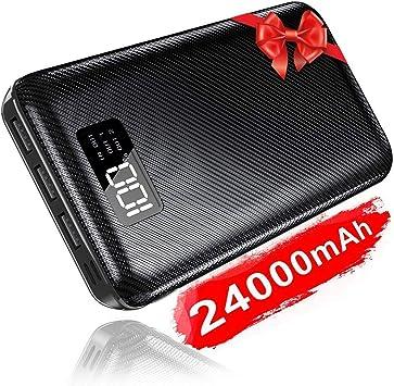 KEDRON 24000mAh Power Bank Cargador Móvil Portátil Batería Externa ...