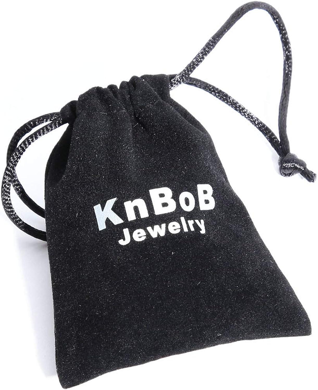 KnBoB Homme Bague Jouer Aux Cartes Argent Acier Inoxydable Bague