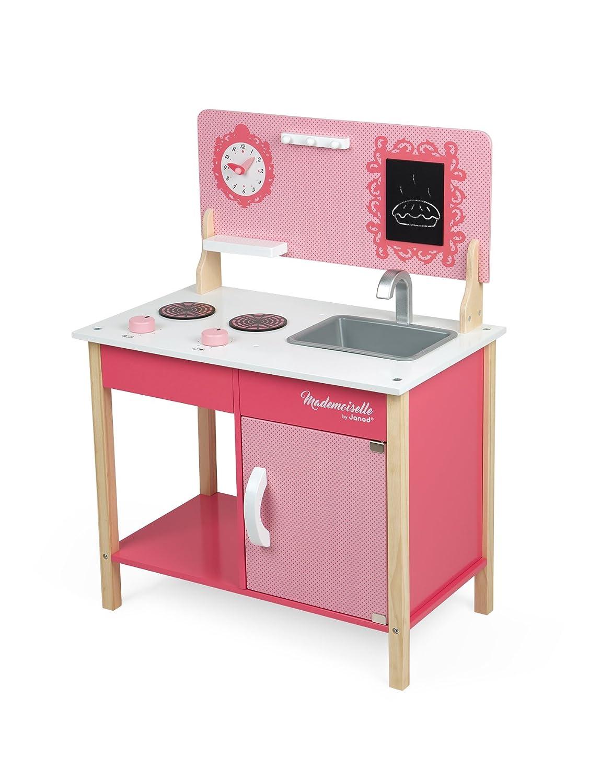 Bois J06533 Janod Maxi Cuisine Mademoiselle Dinettes Jeux D Imitation