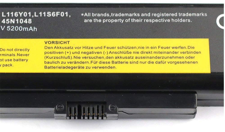 onlyguo 10.8V 5200MAH L11L6F01 L11O6Y01 L11P6R01 L11S6F01 L11S6Y01 Batterie de Remplacement pour Lenovo IdeaPad G580 Z580 Y480 G480 G485 Z380 Y480N