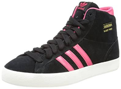 quality design 67e04 b690f adidas Originals Damen Basket Profi W High-top Schwarz (BLACK1 BLAPN) 36