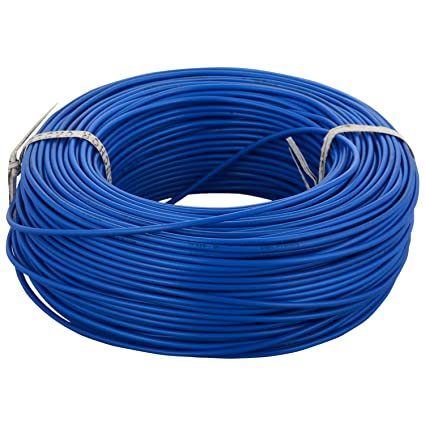 Anchor Insulated Copper PVC Cable 1.0 Sq mm Wire (Blue)