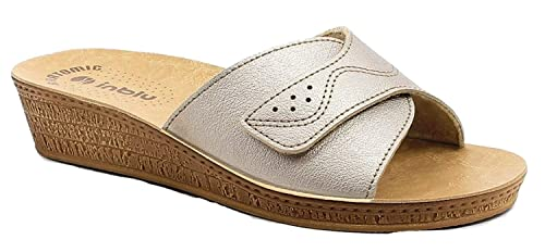 Pantofole Inblu Mod Platino Di Linea Ciabatte 57 Donna Aperte 7UxqPU4