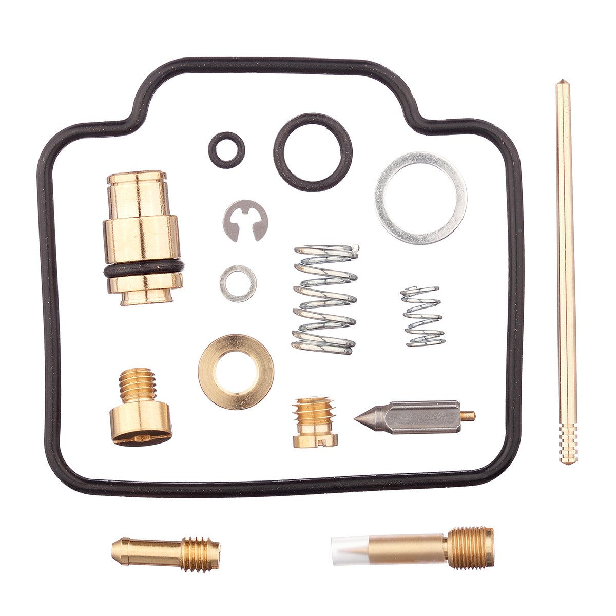 HIFROM Carburetor Carb Rebuild Kit Repair For Suzuki LTF4WDX LT4WDX King Quad 1991 1992 1993 1994 1995 1996 1997 1998 by HIFROM