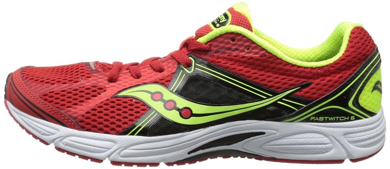 Men's Saucony Grid Fastwitch 6 •OrangeBlackCitron• Racing Shoes