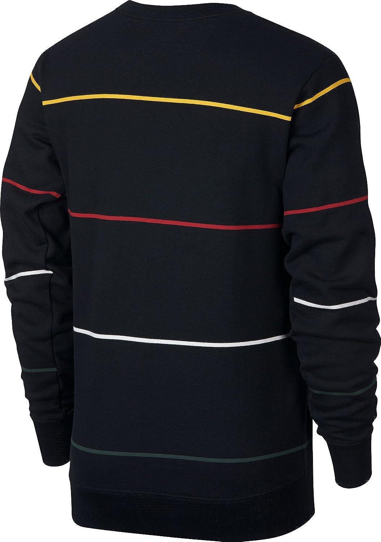Nike SB Evert Stripe Sweatshirt Black Bl Größe: S: