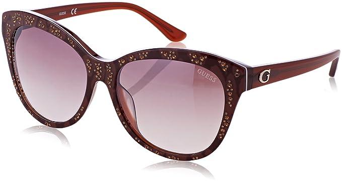 GUEX5 Sonnenbrille GU7437 5650F, Gafas de Sol para Mujer, Marrón (Braun), 56